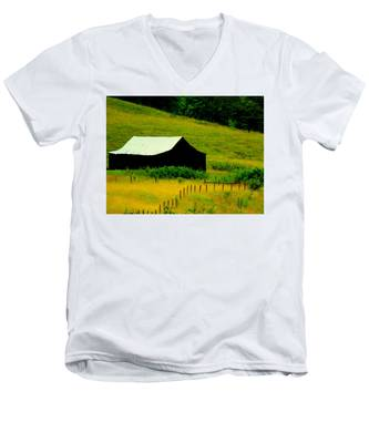 Way Back When Men's V-Neck T-Shirt