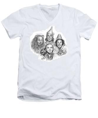 Wizard Of Oz Men's V-Neck T-Shirt