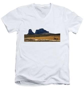 Jailhouse Rock And Courthouse Rock Men's V-Neck T-Shirt