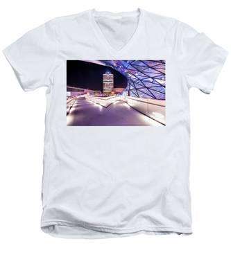 Munich - Bmw Modern And Futuristic Men's V-Neck T-Shirt