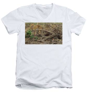 A Quiet Approach Men's V-Neck T-Shirt
