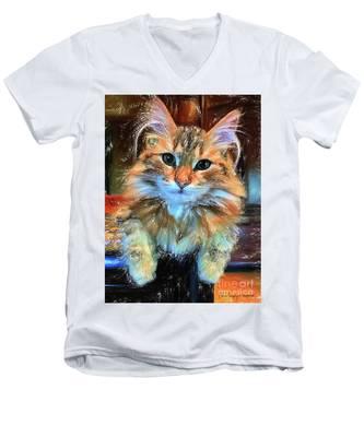 Adopted Men's V-Neck T-Shirt