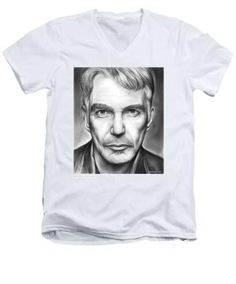 Billy Bob Thornton Men's V-Neck T-Shirt