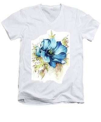 Blue Gem Men's V-Neck T-Shirt