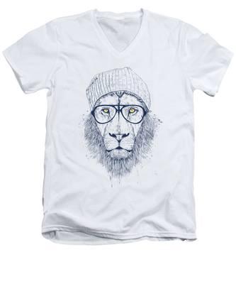 Animal V-Neck T-Shirts