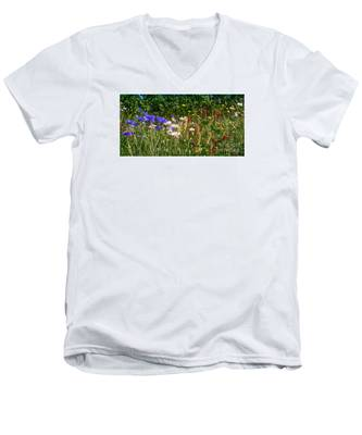 Country Wildflowers Iv Men's V-Neck T-Shirt