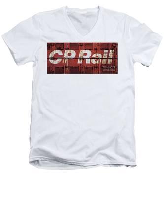 Cp Rail Men's V-Neck T-Shirt