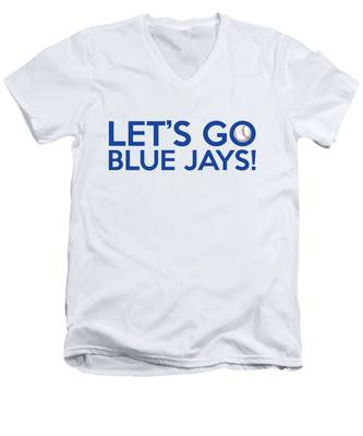 Let's Go Blue Jays Men's V-Neck T-Shirt