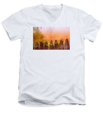 Look Beyond The Boundary Men's V-Neck T-Shirt