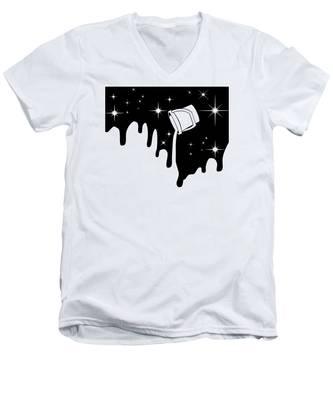 Cartoon V-Neck T-Shirts
