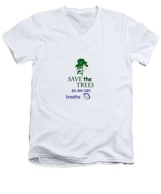 Mists Of Time  Men's V-Neck T-Shirt
