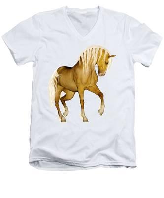 Palomino Men's V-Neck T-Shirt