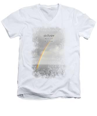 Reborn Men's V-Neck T-Shirt