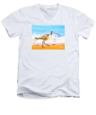 Sand Between My Toes ... Men's V-Neck T-Shirt