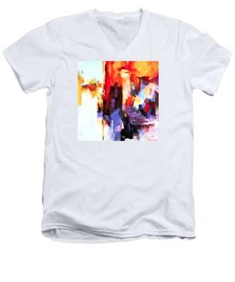 Seven Steps Men's V-Neck T-Shirt