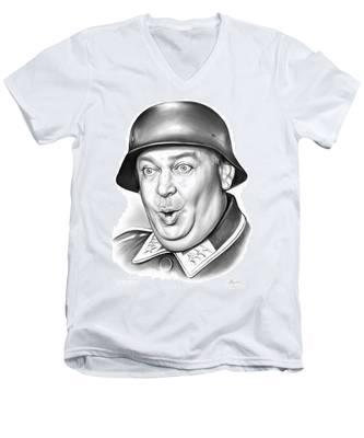 Sgt Schultz Men's V-Neck T-Shirt