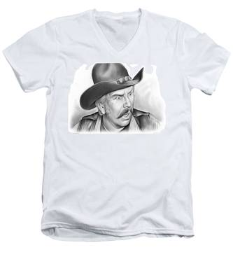 Slim Pickens Men's V-Neck T-Shirt