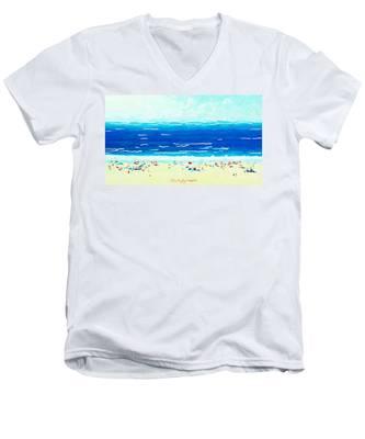 Sunday At Bondi Men's V-Neck T-Shirt