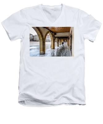 The Rain In Spain Men's V-Neck T-Shirt