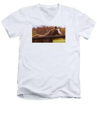 Waiting For You Men's V-Neck T-Shirt