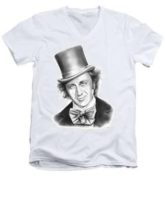Willy Wonka Men's V-Neck T-Shirt
