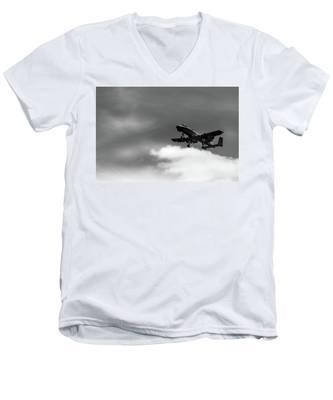 A-10 Slow Pass Men's V-Neck T-Shirt
