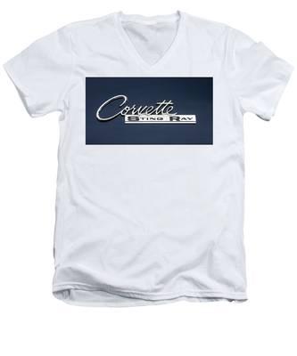 Corvette Stingray Men's V-Neck T-Shirt