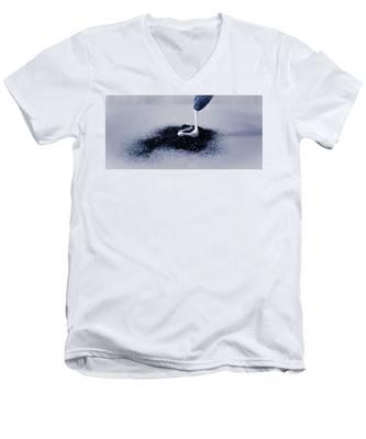 Glitter And Glue Men's V-Neck T-Shirt