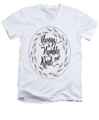 Humble And Kind Men's V-Neck T-Shirt