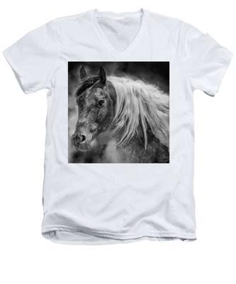 Into The Mist Men's V-Neck T-Shirt