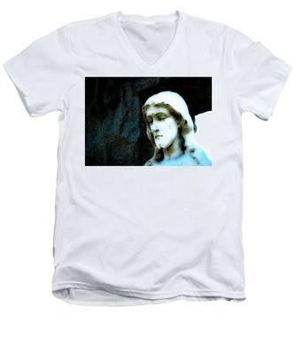 Jesus Men's V-Neck T-Shirt