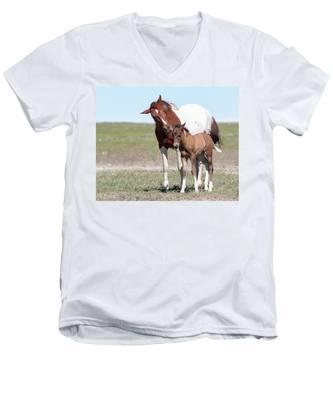 Listen To Your Mom Men's V-Neck T-Shirt