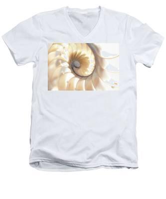 Nautilus 0472 Men's V-Neck T-Shirt