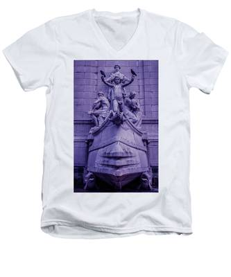 Pigeon Placement Men's V-Neck T-Shirt