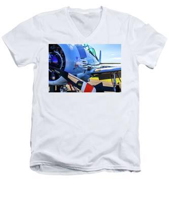 T-28b Trojan Banshee  Men's V-Neck T-Shirt