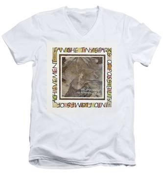 The Beginning Is Always Today Men's V-Neck T-Shirt