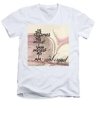 Unbound Men's V-Neck T-Shirt