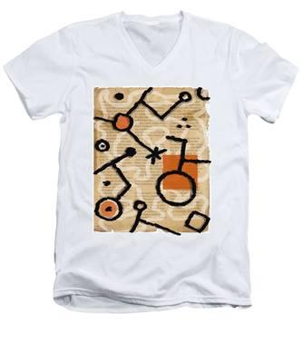 Unicycle Men's V-Neck T-Shirt