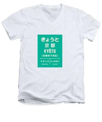 Kyoto V-Neck T-Shirts