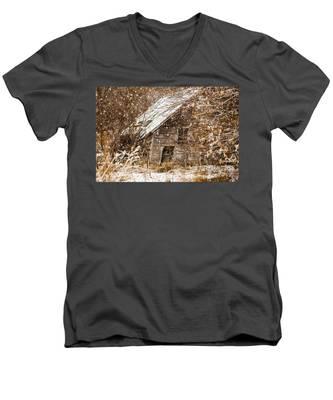 A Winter Shed Men's V-Neck T-Shirt
