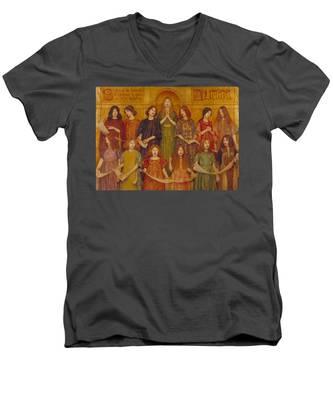 Alleluia Men's V-Neck T-Shirt