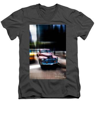 attracting curves III2 Men's V-Neck T-Shirt