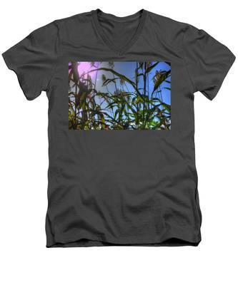 Blazing Rays Men's V-Neck T-Shirt