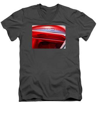 Corvette Dash - Mike Hope Men's V-Neck T-Shirt
