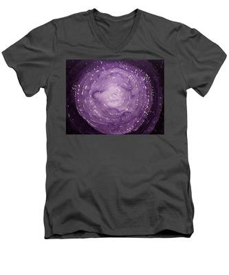 Dreamcatcher Original Painting Men's V-Neck T-Shirt