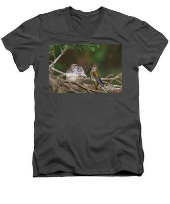 Family Love Men's V-Neck T-Shirt