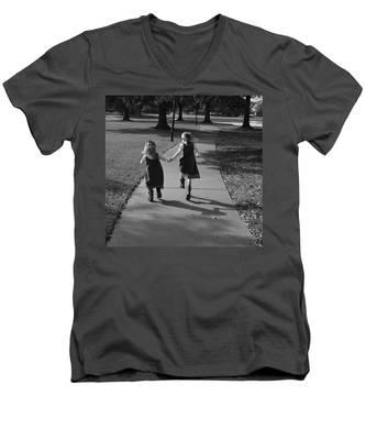 Friends Forever Men's V-Neck T-Shirt