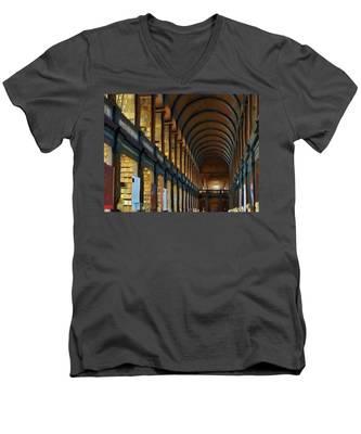 Long Room Men's V-Neck T-Shirt