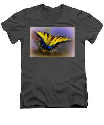 Magic Of Flight Men's V-Neck T-Shirt