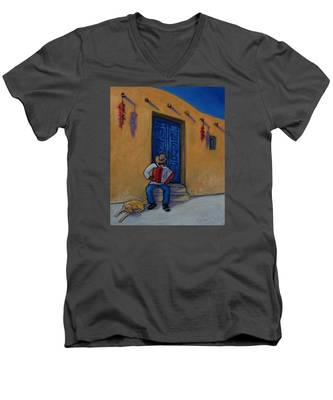 Mexico Impression II Men's V-Neck T-Shirt